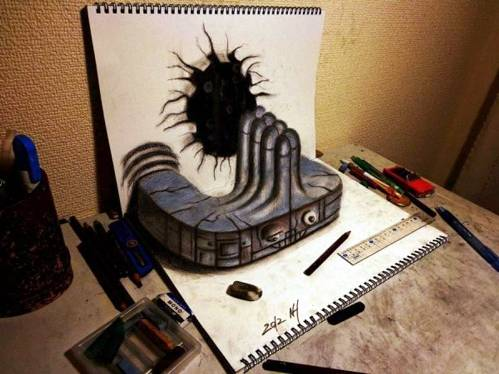 15 Top 25 Incredibly Realistic 3D Drawings