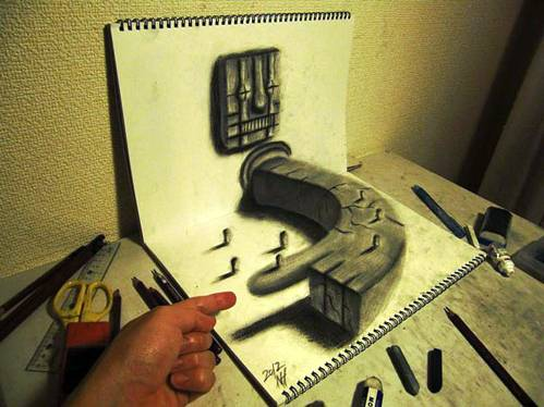 16 Top 25 Incredibly Realistic 3D Drawings
