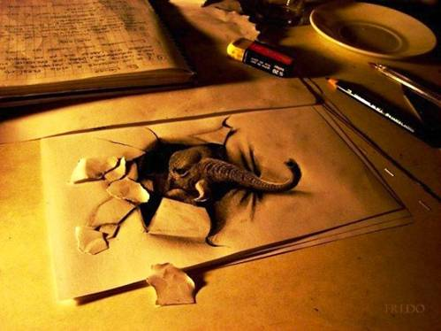 19 Top 25 Incredibly Realistic 3D Drawings