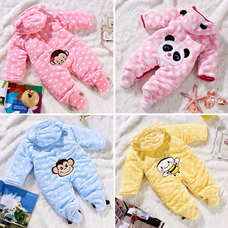1pc-2012-Baby-Romper-Winter-Baby-Clothing-Infant-Newborn-Clothing-Suit-Cotton-Clothes-Baby-Girl-RomperJumpsuit Top 41 Styles Of Clothing For Newborn Babies