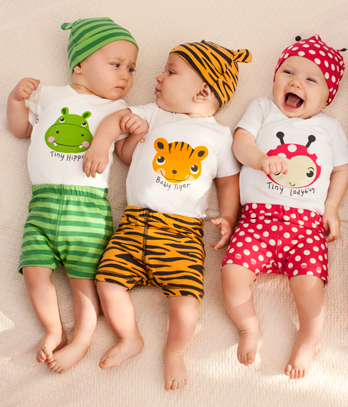2-conjunto-bebe-print-fantasia Top 41 Styles Of Clothing For Newborn Babies