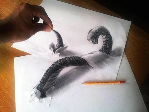 20 Top 25 Incredibly Realistic 3D Drawings