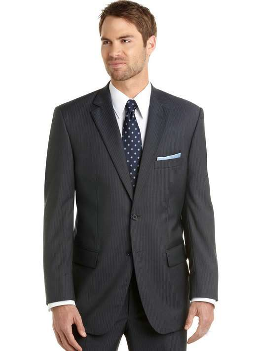 2013_Style_Notch_Lapel_Two_Buttons_Grey_Groom_Men_Suit__1__6810407470196022 Which One Is The Perfect Wedding Suit For Your Big Day?!