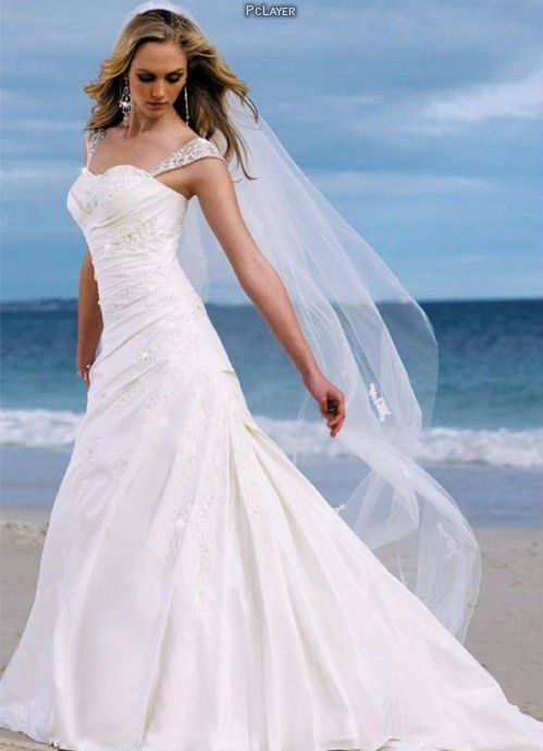 2014-wedding-dress-and-hairstyle-trends-pclayer 19 Most Breathtaking Bridal Dresses Ideas For 2020