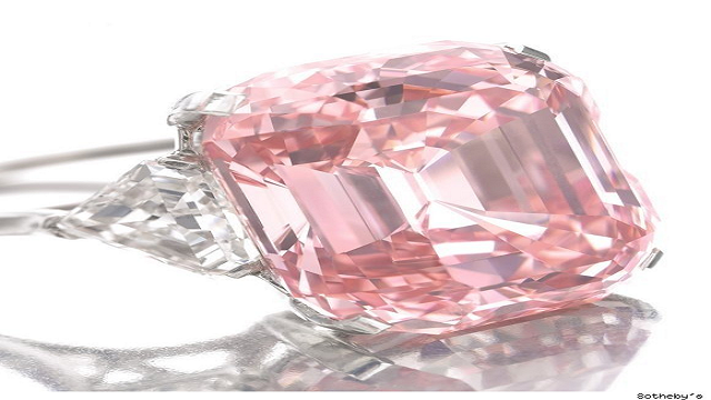 24.78-Carat-Fancy-Intense-Pink-Diamond-Ring Top 25 Pieces Of Most Expensive Jewelry In The World