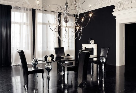 3.Contemporary-Gothic-Dining-Room-Design-Ideas-by-Cattelan-Italia 28 Elegant Designs For Your Dining Room