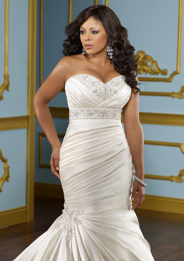 3116_2 Tips To Choose The Perfect Plus Size Bridal Dress...