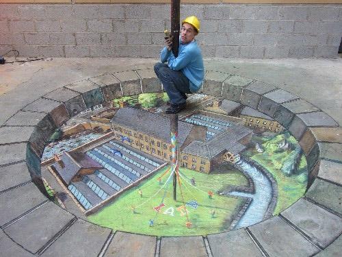 47 26 Most Stunning 3D Street Art Paintings