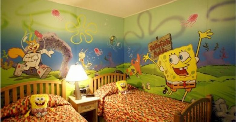 Photo of Create A Colorful Atmosphere In Your Kids Room By Wallpaper