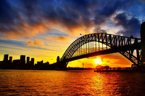 6-Sydney-Harbour-Bridge 18 Most Unique Bridges Of The World