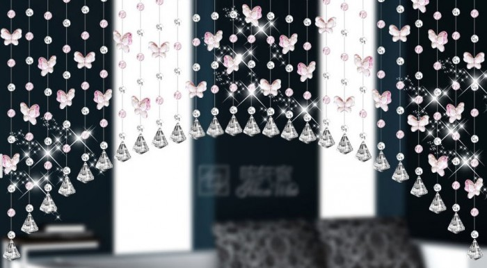 75-beaded-room-divider 40 Most Amazing Room Dividers