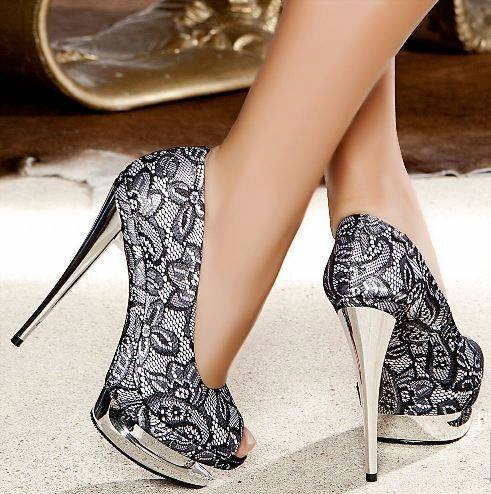 946248_384029505031756_418349163_n Elegant Collection Of High-Heeled Shoes For Women