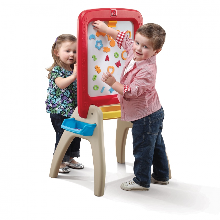 AllAroundEaselforTwo Learning Early Is Always Best, So Pick Up An Educational Toy For Your Kid