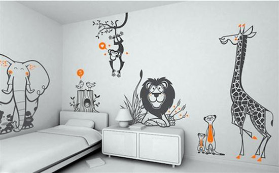 Animal-Wallpaper-for-Kids-Bedroom Create A Colorful Atmosphere In Your Kids Room By Wallpaper
