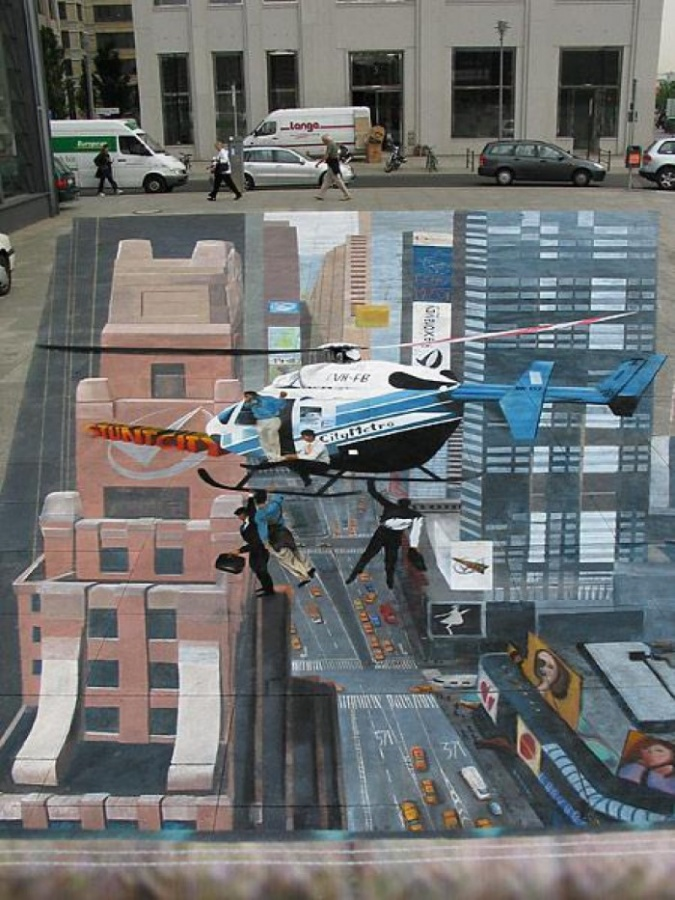 Awesome_3D_Art_01 26 Most Stunning 3D Street Art Paintings