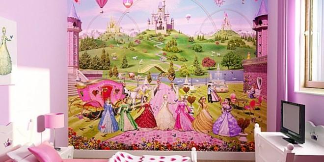 beauty disney princess wallpaper for kids room 4 on lovekidszone