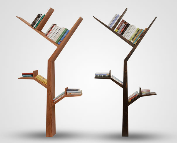 Bookshelf-Design-of-Spiral-Fashion-Creative-Booktree-Bookshelves 40 Unusual and Creative Bookcases