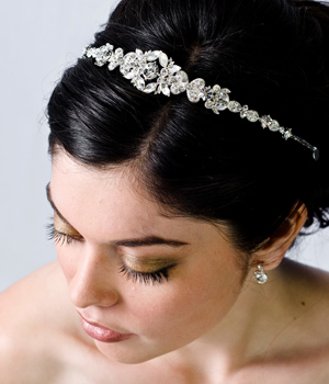 Bridal-headband-with-ribbon A breathtaking collection of Bridal Hair Accessories