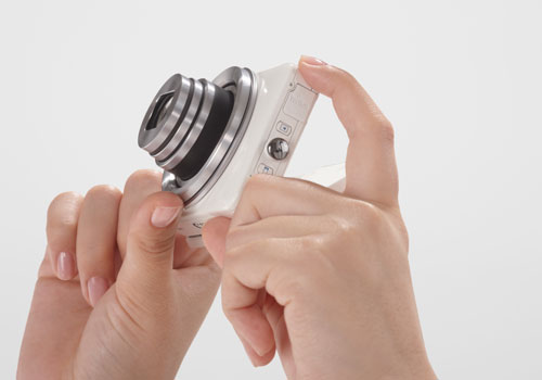 Canon-PowerShot-N-smart-camera-side-sexy-white-dandy-gadget-digital-cameras Review On Canon PowerShot N