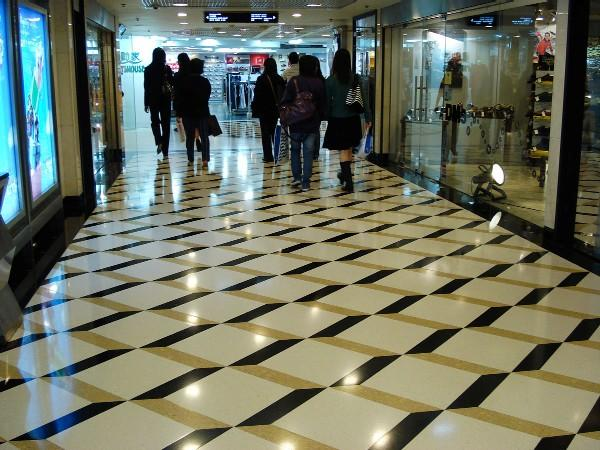 Compressed-marble-tiles-floor-tiles 43 Modern And Creative Ideas Of Flooring Designs