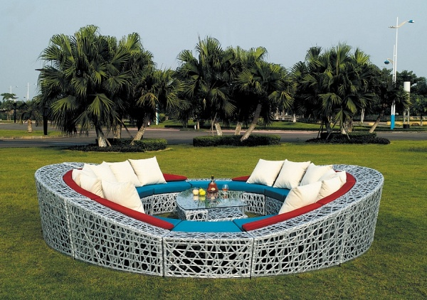 Contemporary-Patio-Furniture-with-Fantastic-Shape 32 Most Interesting Outdoor Furniture Designs