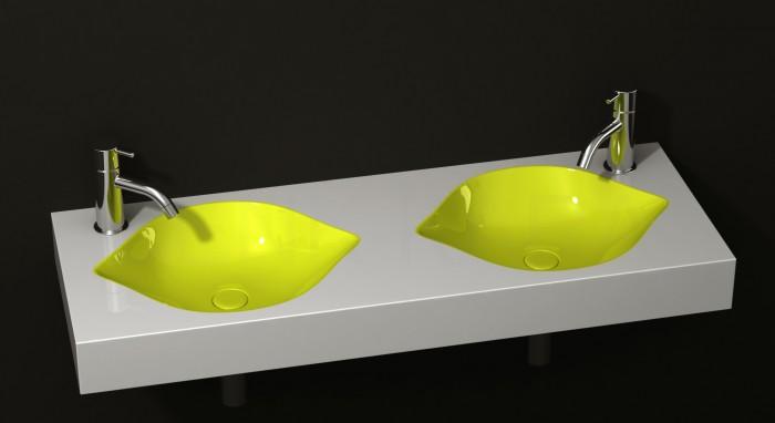 Cool-Fruit-Inspired-Bathroom-Sinks-Lemon-By-Cenk-Kara-4 40 Catchy and Dazzling Bathroom Sinks