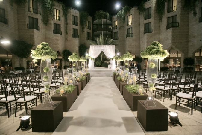Courtyard_wedding Do You Know How to Create a Wedding Website?