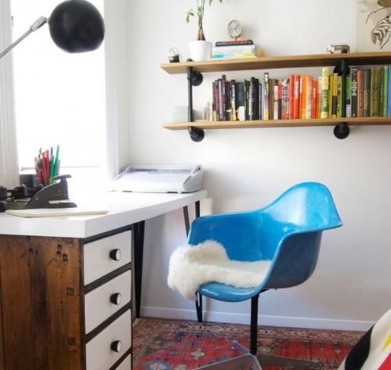 Creative-Ideas-Bookshelf-at-study-room-570x539 26 Of The Most Creative Bookshelves Designs