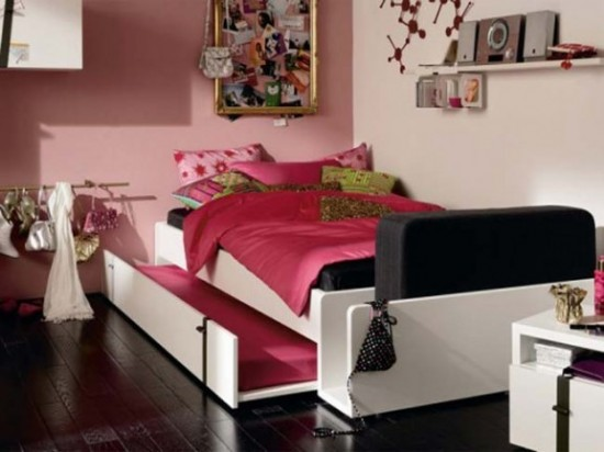 Décor-Teenagers-Modern-Interior-Room-With-NAMIC2 Modern Ideas Of Room Designs For Teenage Girls