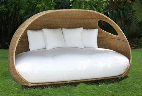 Daybed-Design-for-Enjoying-Summer4 32 Most Interesting Outdoor Furniture Designs