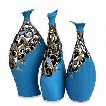 Decorative-Vase-CP-222-223-224- 35 Designs Of Ceramic Vases For Your Home Decoration