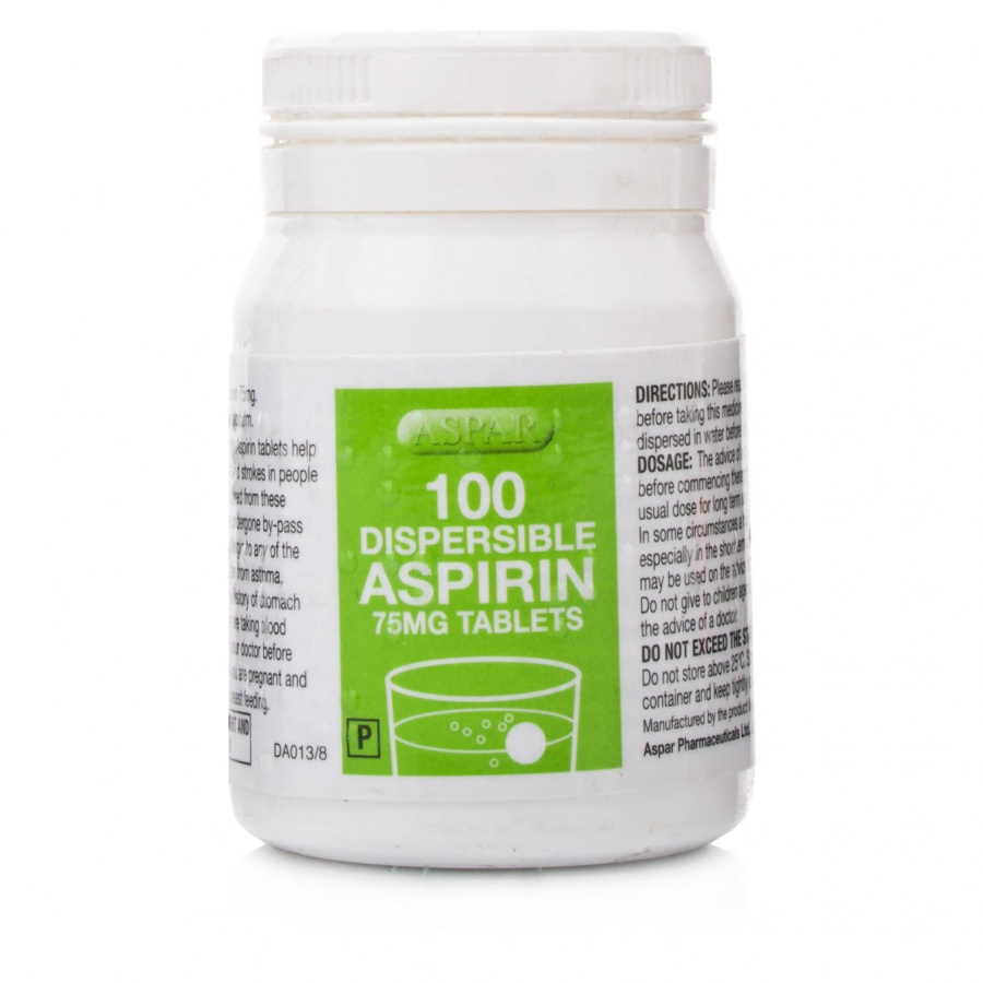 Dispersible-Aspirin-Tablets-75mg-Low-Dose-Aspirin-2783 The Long-Term Use Of Low Dose Aspirin Could Prevent Some Types Of Cancer