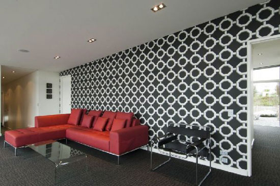 Dixon-House-7-Contemporary-Wallpaper Tips On Choosing Wall Papers For Your Living Room