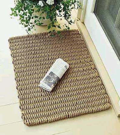 Doormat-Brown 5 Tips On Choosing The Suitable Front Door Mat Or Rug
