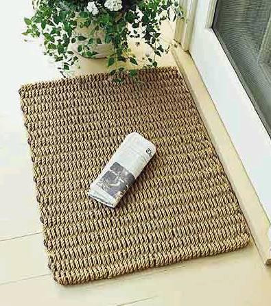 Doormat-Brown 5 Tips On Choosing The Suitable Front Door Mat Or Rug