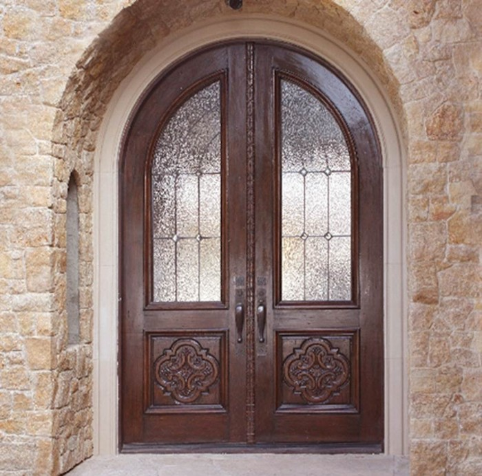 Doors-Solid-Wood 23 Designs To Choose From When Deciding On A Front Door