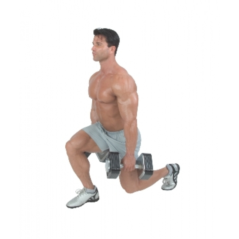 Dumbbell-Lunge 10 MMA Workouts to Achieve Fitness