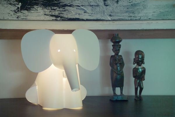 Elephant-Kids-Bedroom-Lamps Fantastic Designs Of Lighting And Lamps For Kids' Rooms
