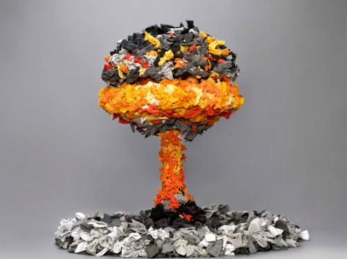 Explosion-art 12 Impressive Art Works Made From Recycled Materials