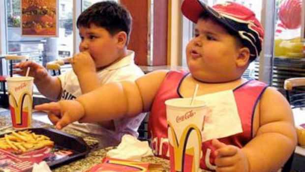 FatKids-620x Do You Have An Obese Kid?! Lose Weight By Playing Video Games