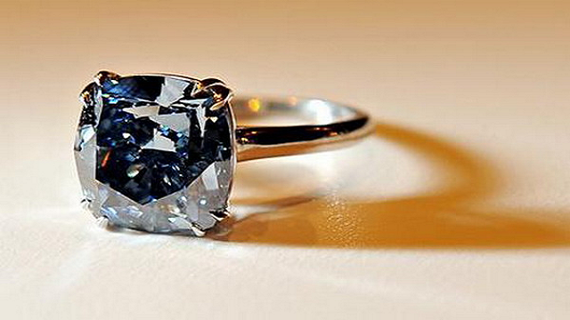 Flawless-Blue-Diamond-Ring Top 25 Pieces Of Most Expensive Jewelry In The World