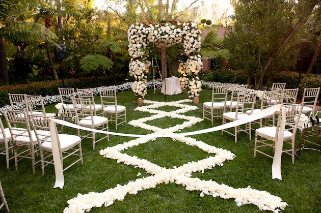 FloralAisle3 Best +20 Ideas For Outdoor wedding