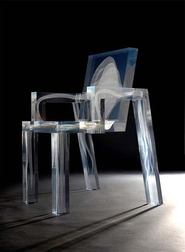 Ghost-Chair-2 Do Ghosts Scare You? Take a Look at These Ghost Chairs