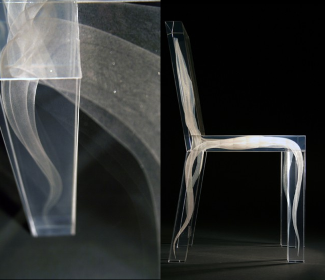 Ghost-chair Do Ghosts Scare You? Take a Look at These Ghost Chairs