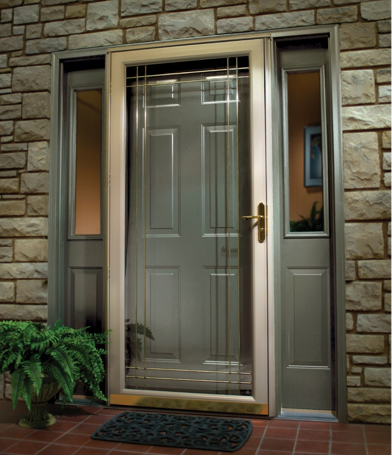 Grey-Wood-Doors 23 Designs To Choose From When Deciding On A Front Door