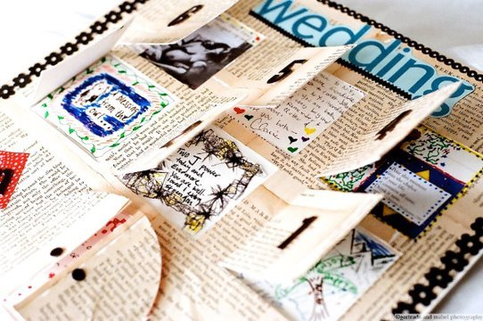 Guest+book+advent Unique And Creative Guest Book Ideas For Your Wedding Day