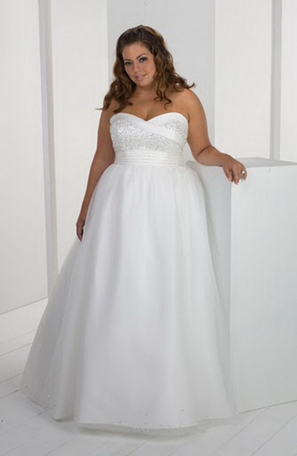 Informal-Short-Plus-Size-Wedding-Dresses Tips To Choose The Perfect Plus Size Bridal Dress...