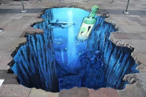 Interesting-3D-Street-Art-Paintings-13 26 Most Stunning 3D Street Art Paintings