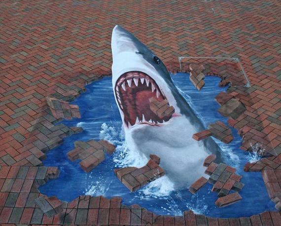 Interesting-3D-Street-Art-Paintings-4 26 Most Stunning 3D Street Art Paintings