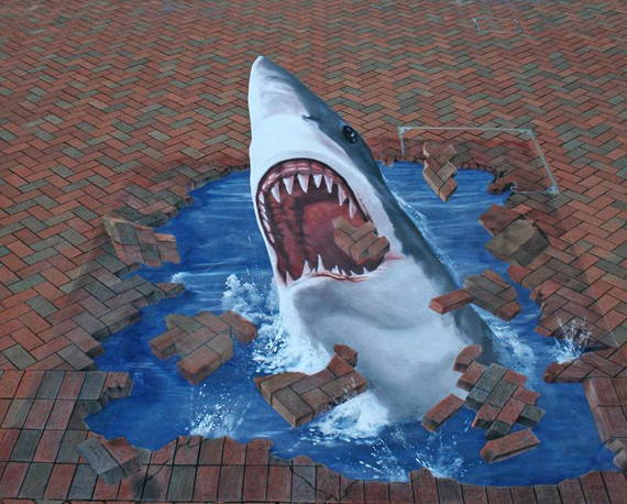 Interesting-3D-Street-Art-Paintings-4 26 Most Stunning 3D Street Art Paintings